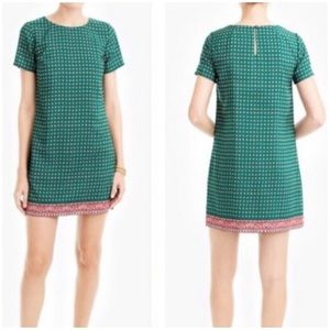 3/$64 🎉NWT J. Crew Green Swing Dress